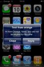 Orange Text